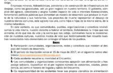 3er Encuentro Regional de Pueblos en Defensa del Territorio de la Huasteca y el Totonacapan