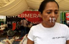 Ante incumplimiento de acuerdos por parte de autoridades, enfermeras reanudan huelga de hambre en Chiapas