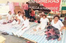 """""""Le decimos al pueblo que seguimos buscando el medicamento, material e insumos que necesitan para su atención"""": Vocera de enfermeras en huelga de hambre Chiapas"""