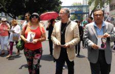 Marchan en la UACM por la alumna desaparecida