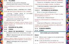 Encuentro Regional de Pueblos en Defensa del Territorio de la Huasteca y el Totonacapan