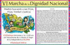 VI Marcha de la Dignidad Nacional: Madres buscando a sus Hijos, Hijas, Verdad y Justicia