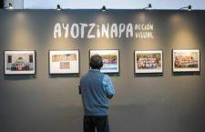 """Inauguran exposición """"Ayotzinapa. Acción visual""""; el gobierno mexicano impidió mostrarla en galería de la OEA"""