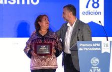 """""""Que Peña Nieto ofrezca resultados por los crímenes en lugar de espiar periodistas y luchadores sociales"""": Griselda Triana, esposa de Javier Valdez"""