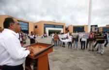 Reporteros de Acapulco exigen justicia ante ataque sufrido por la locutora de RTG Marcela de Jesús Natalia