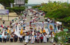Video | Marcha pueblo Zoque en contra del despojo de la tierra y el territorio