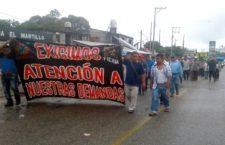 Comunidades del norte del  Ismo de Tehuantepec exigen diálogo al gobernador de Oaxaca