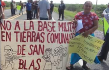 Comuneras y comuneros zapotecas exigen cancelación de estación eoloeléctrica propiedad de la Sedena