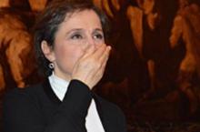 """La muerte de un periodista es también la muerte de la libertad"": Carmen Aristegui"