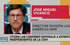 """Se necesita investigar con peritos que puedan trabajar con total independencia del gobierno federal"": José Miguel Vivanco, Human Rights Watch"