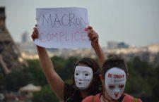Manifestantes repudian invitación a visita de Peña Nieto en París