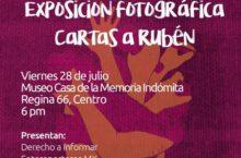 Exposición fotográfica   Cartas a Rubén