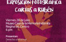 Exposición fotográfica | Cartas a Rubén