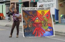 """No sólo el agua y la tierra, """"también la minería contamina nuestra vida"""": pobladores contra proyectos extractivos en Oaxaca"""