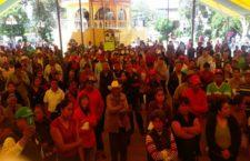 Protestan contra Ciudad Modelo en cabildo abierto de Nopalucan, Puebla