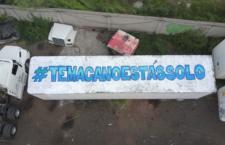 Artistas clandestinos intervienen trailer en apoyo a Temacapulín, Jalisco