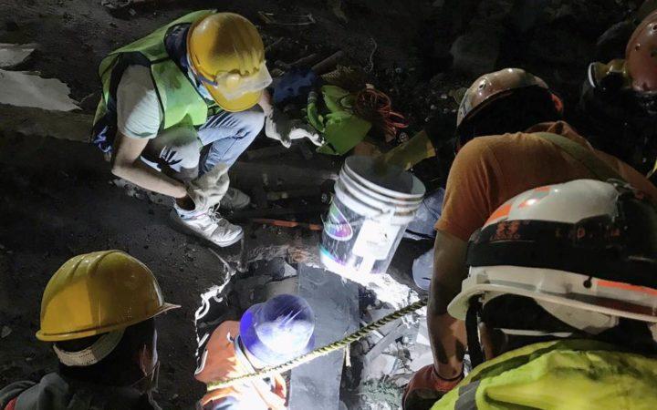 Rescate en Chimalpopoca, centro de CDMX   Heriberto Paredes
