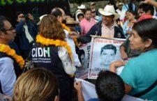 CIDH urge a México a no dejar Ayotzinapa en la impunidad