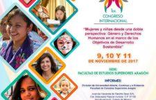 Congreso Internacional | Mujeres y niñas desde una doble perspectiva: Género y Derechos Humanosostenible
