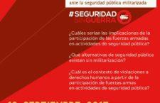 Foro informativo | Ley de Seguridad Interior