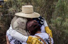 """""""Y pues ya está descansando mi hijo, como se lo prometí"""": Mirna Nereyda, buscadora"""