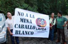 Piden comunidades consulta frente al proyecto minero Caballo Blanco en Veracruz