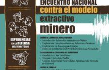 Encuentro contra la minería