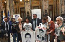 Ante la CIDH, denuncian familias de Ayotzinapa trabas a la investigación