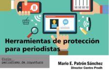 Conferencia: Herramientas de protección para periodistas
