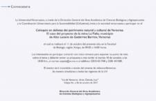 """Coloquio """"En defensa del patrimonio natural y cultural de Veracruz"""""""