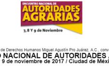 Encuentro Nacional de Autoridades Agrarias