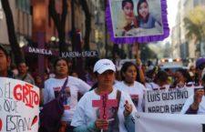 Clamor contra feminicidios y desapariciones