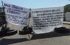 Exigen zoques a gobierno de Oaxaca cumplir con apoyos de reconstrucción