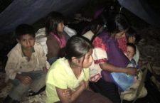 Urgen ayuda humanitaria para más de 5 mil personas desplazadas en Chiapas