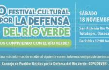 Cuarto  festival cultural por la defensa del Río Verde