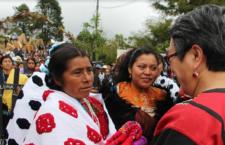 Pueblos indígenas de Chiapas presentan informe a relatora de la ONU