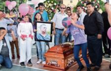 Despiden a Diana, niña asesinada en Chilapa
