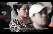 Videos | Avanza Santa Fe de la Laguna hacia la libre determinación