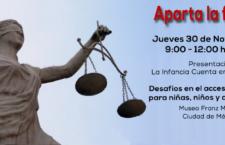 Presentación de informe Infancia Cuenta en México 2017