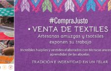 Venta solidaria de textiles
