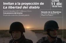 Proyección: La libertad del diablo