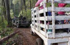 Campesino a EPN: le pido protección y ayuda para nuestras comunidades; muchos pueblos se quedan solos
