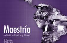 Maestría en Políticas Públicas y Género