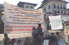 Delincuencia organizada opera en Cuetzalan, denuncian en manifestación