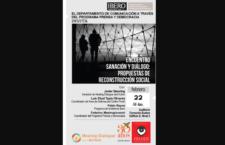 Encuentro sobre propuestas de reconstrucción social