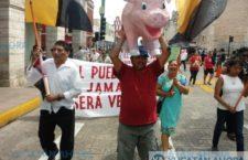 Ratifican rechazo a granja porcícola en zona de cenotes en Yucatán; acusan parcialidad de autoridades