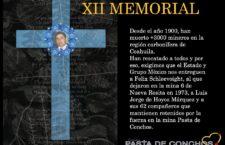 XII Memorial Pasta de Conchos