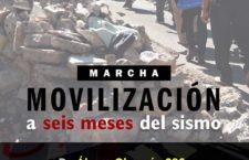 EN AGENDHA | Movilización a 6 meses del sismo