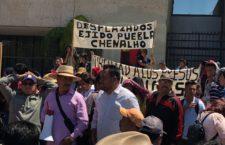 IMAGEN DEL DÍA | Indígenas de Chenalhó exigen terminar con desplazamiento forzado y grupo de choque