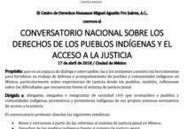 EN AGENDHA | Conversatorio sobre acceso a la justicia para pueblos indígenas